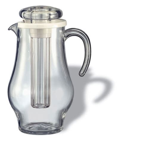 Pitcher 4liter by Service Ideas Awp24bs Bell Shaped Acrylic Pitcher 2 4 Liter