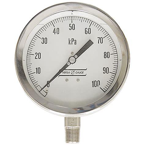 Vacuum Kpa 100 Kpa 6 Lm Pressure Vacuum Gauges