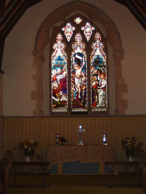 church altar curtains adwell church