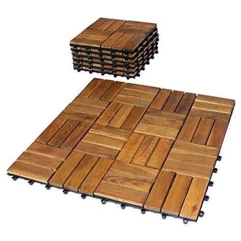 Balkonfliesen Ikea by 10er Pack Holzfliese Quot Excelsior Quot Akazie Holz