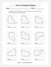 worksheets area of complex figures worksheet