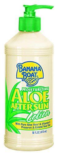 banana boat aloe vera sunburn relief for sunburn shopswell