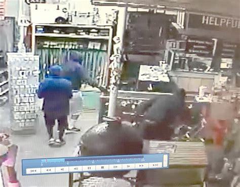 video  guns stolen  northwest arkansas hardware store