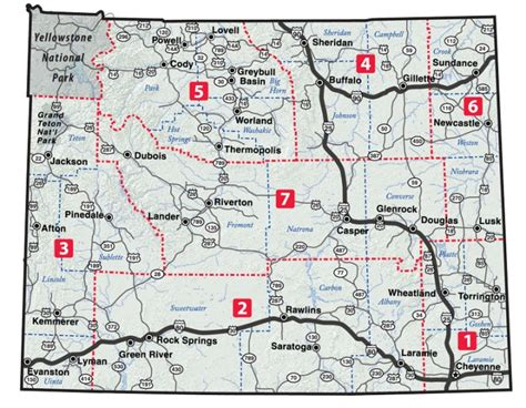 printable wyoming road map wydot map search results dunia photo