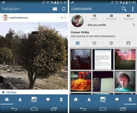 download theme instagram android cult of android this is how beautiful instagram should