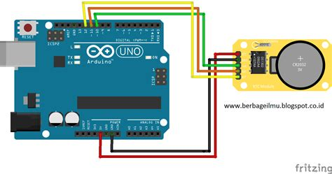 cara membuat jam digital dengan arduino uno membuat jam digital dengan lcd dan rtc ds1302 di arduino