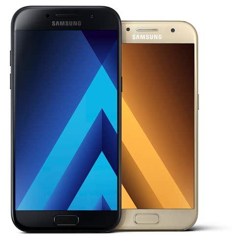 Samsung A5 A3 samsung galaxy a3 en a5 2017 officieel aangekondigd