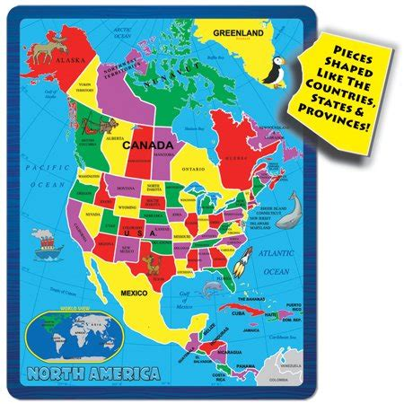 a broader view's continent puzzle north america (55