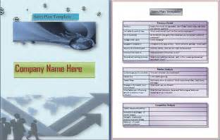 Sales Business Plan Template Free Sales Planners Submited Images Pic2fly