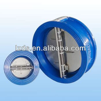 spring loaded swing check valve wafer double door swing check valve spring loaded pn 16 10