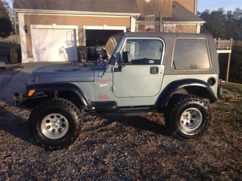 Used 1998 Jeep Wrangler Sell Used 1998 Jeep Wrangler In Belleville West