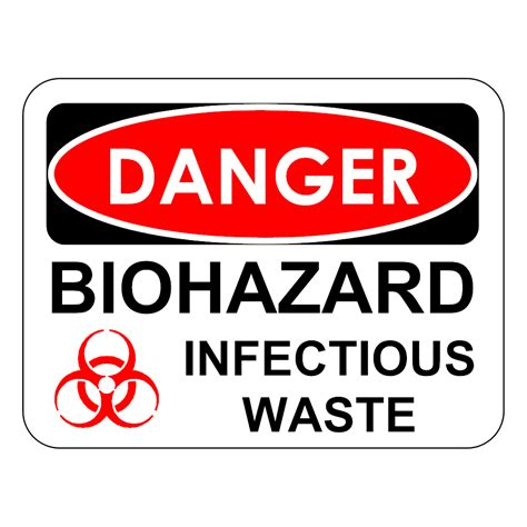 Free Floorplan Software example image biohazard infectious waste sign