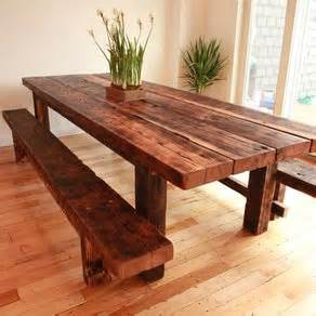 Bench Style Dining Room Tables Farm Style Table With Storage Bench Home Garden Design