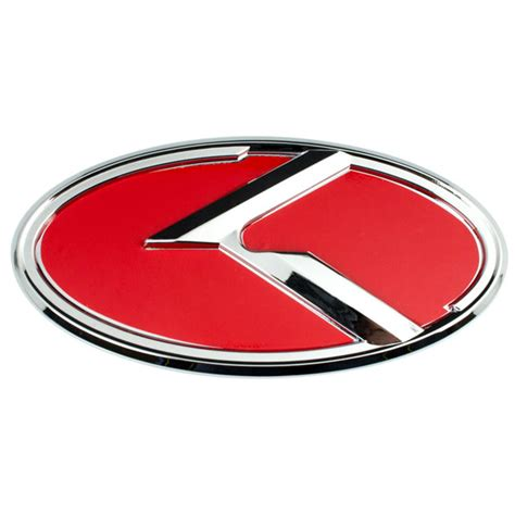 Kia Emblems For Sale Chrome Kia K Large Emblem Badge For Trunk Or Ebay