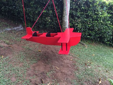 outdoor swing for twins 1000 images about wooden airplane swing on pinterest