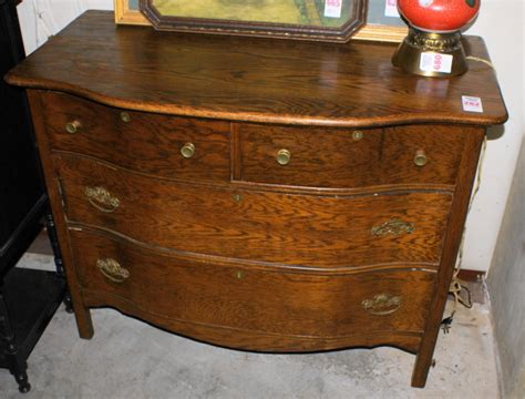 Pictures Of Antique Dressers by Clean Oak Bow Front Dresser For Sale Antiques