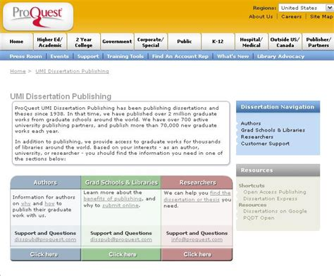proquest dissertation dissertations proquest live service for college students