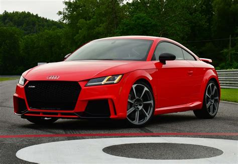 Ttrs Audi by 2018 Audi Tt Rs Drive Review Motor Trend