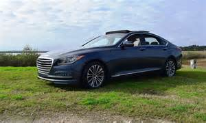 hd road test review 2016 hyundai genesis ultimate v6 rwd