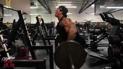 bent rows doing this right rich piana