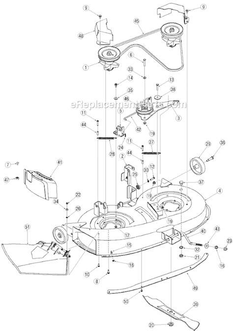 yard machine mower parts diagram yard machines 13a1760f700 parts list and diagram 2005