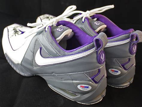 2005 nike basketball shoes lot detail 2005 06 steve nash worn signed nike
