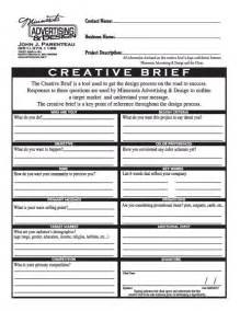 ogilvy creative brief template 46 best images about creative brief on