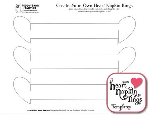 tutorial heart napkin rings may arts wholesale ribbon