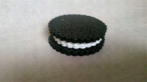 perler bead 3d perler creations 3d perler bead oreo