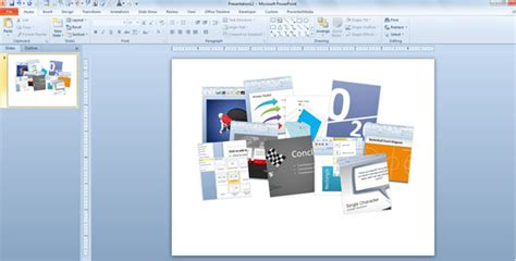 How To Make A Moodboard In Powerpoint Using This Free Powerpoint Template Board Powerpoint Template
