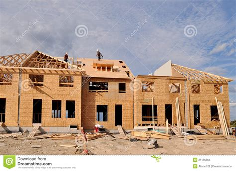 build on site homes new home construction stock images image 21156664