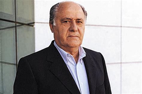 amacio ortega billionaire zara founder amancio ortega expands