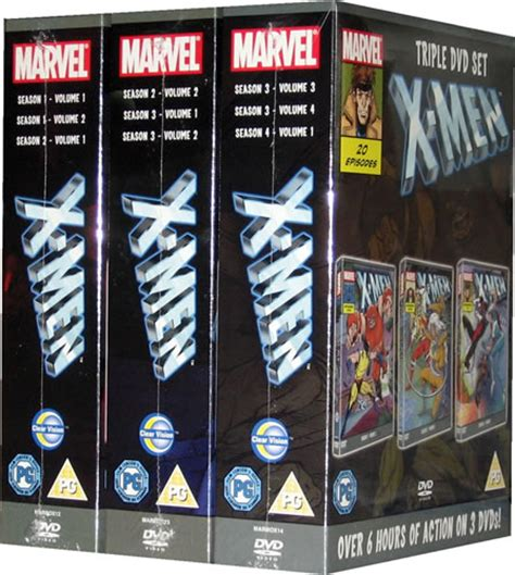 Gift Large 9458 Cyclops Xmen by The Marvel Season 1 2 3 Series Boxset On 9 Dvd Ebay
