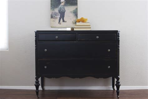 Black And Dresser by Black 4 Drawer Dresser Home Furniture Design