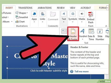 how to make a powerpoint template powerpoint vorlagen erstellen wikihow