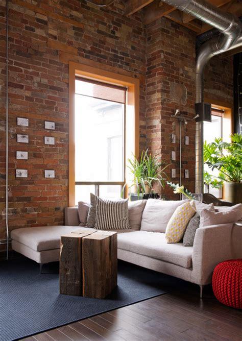 boilers loft industrial living room toronto by pause designs