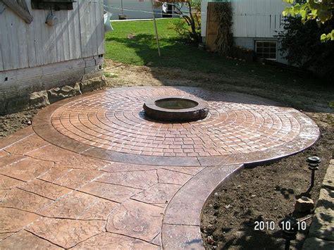 sted concrete patio designs sted concrete patio