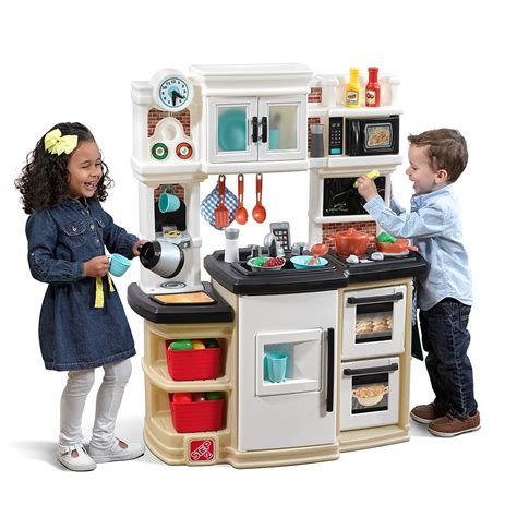 kid kitchen table great gourmet kitchen play kitchen step2