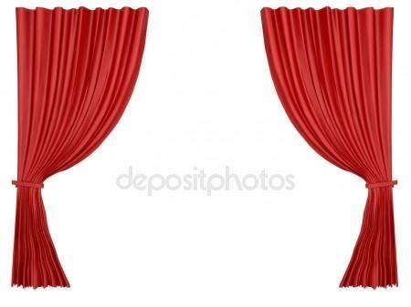 rode doorzichtige gordijnen theater gordijnen met een transparante achtergrond vector