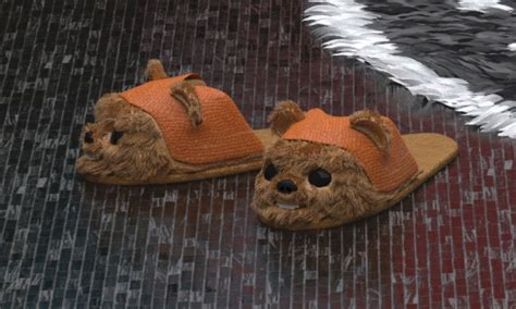 ewok slippers wars interior design icea emperor edition