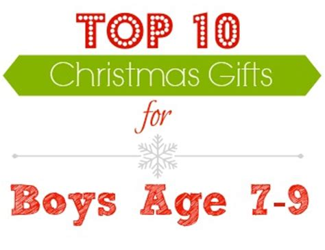 gift ideas top gifts for boys age 7 9 southern savers