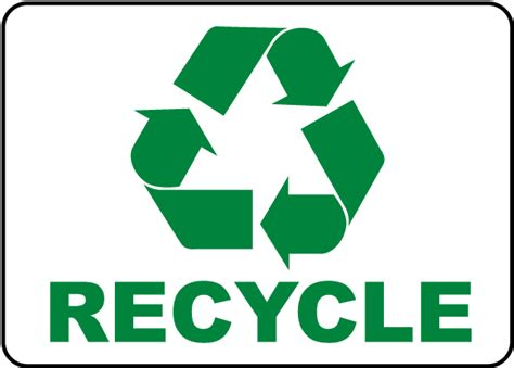 printable recycle label recycle label by safetysign com j4516