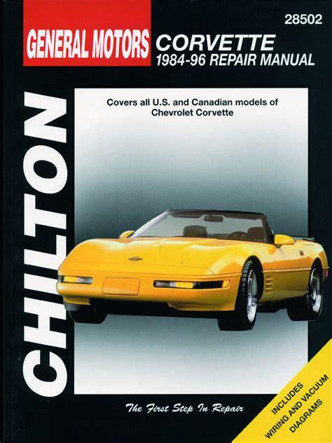 chilton car manuals free download 1996 chevrolet corvette head up display free chevrolet chevrolet corvette 1984 1996