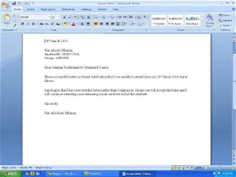 Explanation Letter Because Of Tardiness Free Sle Of Cv Resume Write Letter To For Absent