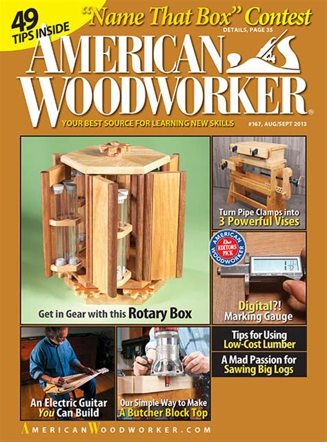 woodworkers magazine woodworking magazine subscription diy woodworking project