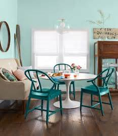 Aqua Dining Room Turquoise Dining Chairs Country Kitchen Benjamin