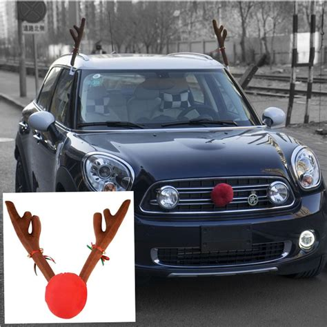 aliexpress com buy christmas reindeer antlers car
