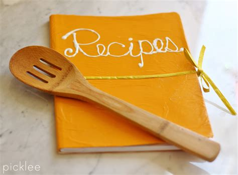 recipe of books diy recipe book 10 minute transformation picklee