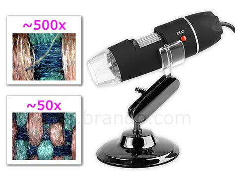 Murah Mikroskop 500x Digital Zoom View usb digital microscope with 8 leds 500x