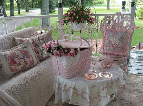 Shabby Chic Garden Decor Shabby Chic Outdoor Decorating Home Inspirations